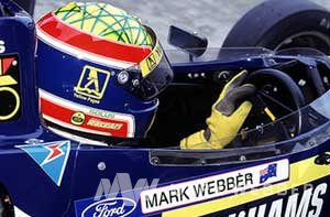 Mark Webber in his Formula Ford