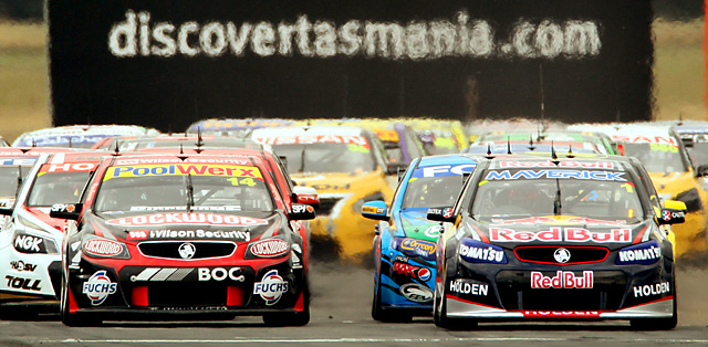 V8 Supercars are set to rumble for qualifying tomorrow morning. Photo: Ross Marsden