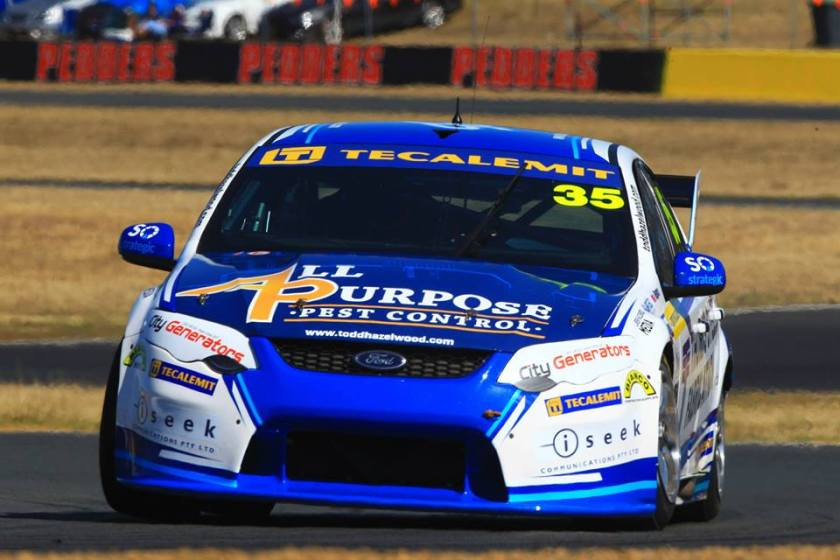 Hazelwood is keen to race at Queensland Raceway