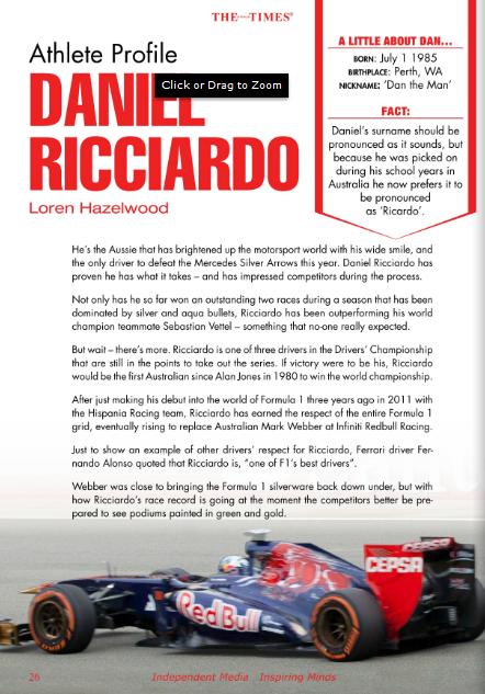 Ricciardo-Profile