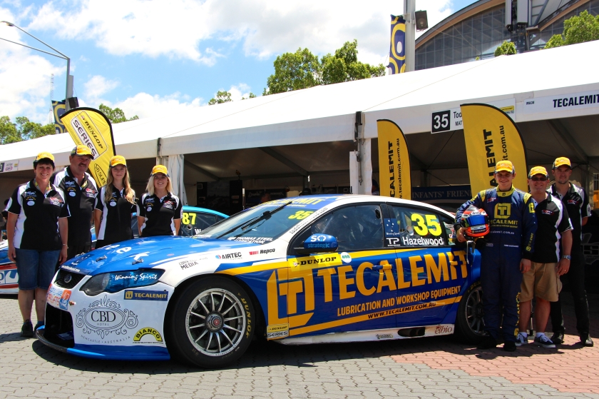 Todd Hazelwood Racing team at the Sydney NRMA 500